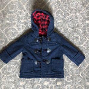 Baby Gap Boy Toggle Jacket- size 6-12
